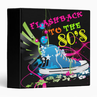 Flashback To The 80 s Neon Sneaker Binder
