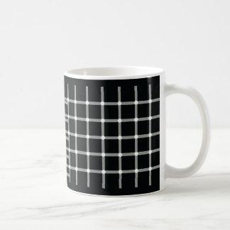 Flashing Black Dots - Optical Illusion Coffee Mug