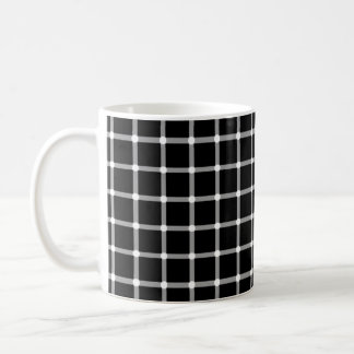 Flashing Dots Illusion Coffee Mug