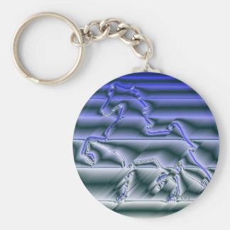 Flashy American Saddlebred Keychain