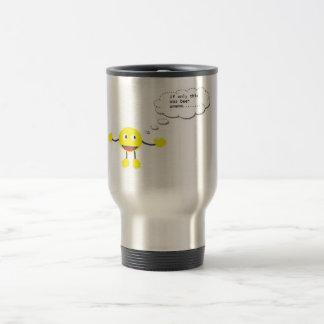 Flask for work travel mug