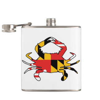 Flasques Crabe du Maryland