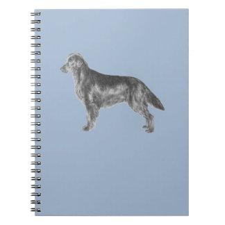 Flat Coated Retriever FCR Notebook