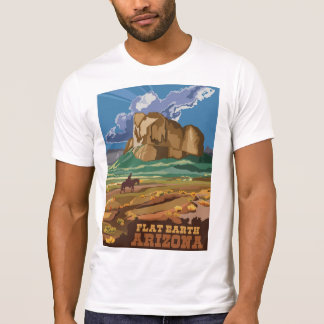 Flat Earth - ARIZONA T-Shirt