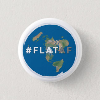 Flat Earth Button