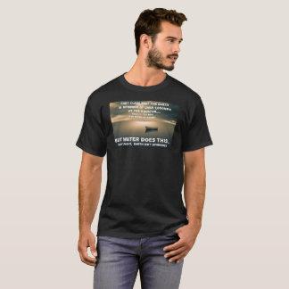 Flat Earth Calm Ocean T-Shirt