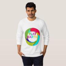 Flat Earth Colours T-Shirt