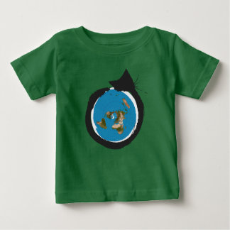 Flat Earth Designs - CAT MAP CLASSIC Baby T-Shirt