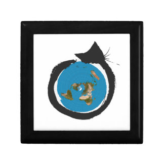 Flat Earth Designs - CAT MAP CLASSIC Gift Box