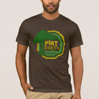 Flat Earth Designs - Flat Earth Tree of Life T-Shirt