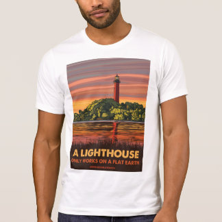 Flat Earth - LIGHTHOUSE T-Shirt