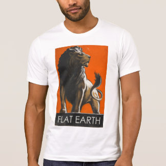 Flat Earth - LION T-Shirt