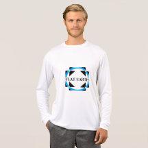Flat Earth Logo T-Shirt