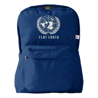 Flat Earth MAP Backpack (BLUE)