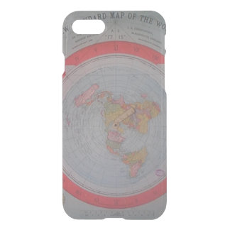 Flat Earth Map iPhone 7 Case
