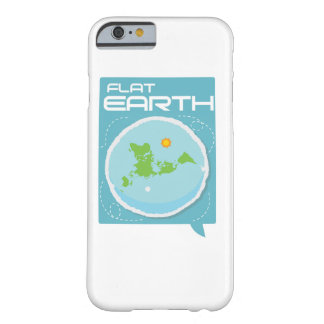 Flat Earth -- Modern Square iPhone Barely There iPhone 6 Case