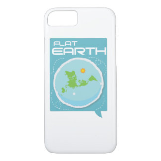 Flat Earth -- Modern Square iPhone iPhone 7 Case
