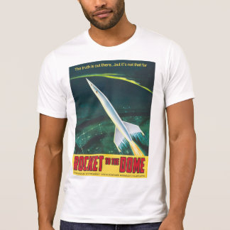 Flat Earth - ROCKET TO THE DOME T-Shirt
