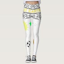 Flat Earth Sporty Wear Leggings