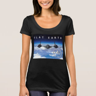 Flat Earth SR71 -- Womens Tshirt