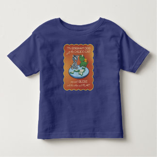 Flat Earth – The Gingham Dog and the Calico Cat Toddler T-shirt