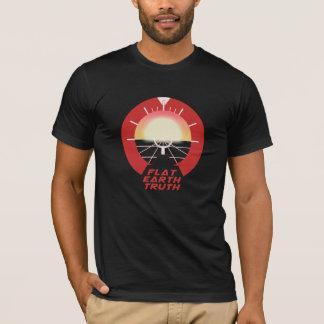 Flat Earth TRUTH - Level Horizon Style T-Shirt