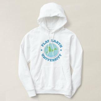 Flat Earth University -- Blue Hoodie