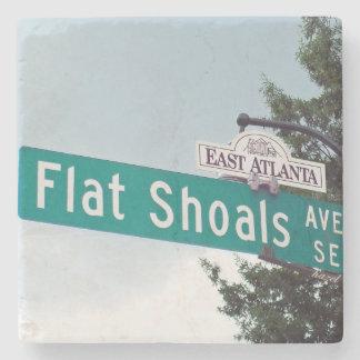 Flat Shoals, East Atlanta, EAV, Marble Coasters Stone Coaster