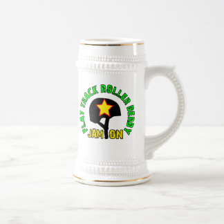 Flat Track Roller Derby, Jam On Beer Stein