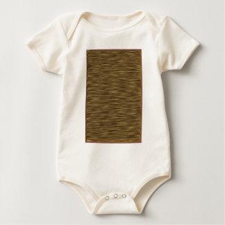Flat wood nice cute Skin Case Baby Bodysuit