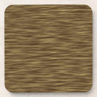 Flat wood nice cute Skin Case Coaster