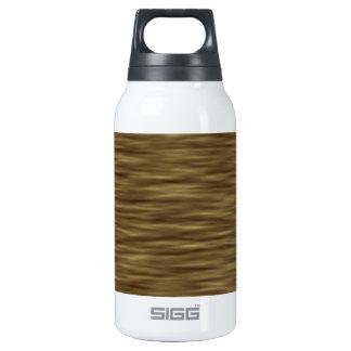 Flat wood nice cute Skin Case Insulated Water Bottle