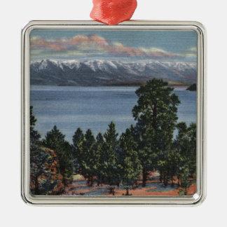 Flathead Lake, Montana Metal Ornament