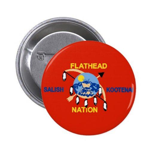 Flathead Nation Pinback Button