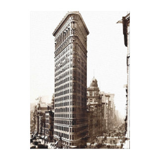 Flatiron Building 1910 Canvas Print