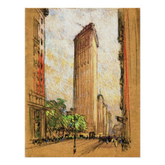 Flatiron Building New York City 1904 Poster