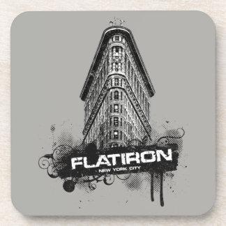 Flatiron Building New York City Coaster Set