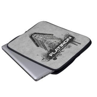 Flatiron Building New York City Laptop Sleeve