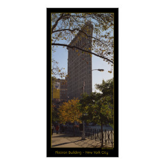 Flatiron Building - New York City Poster