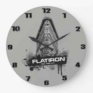 Flatiron Building New York City Wall Clock
