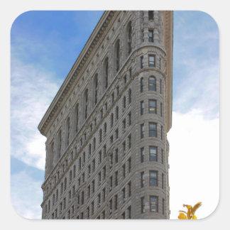 Flatiron Building Photo in NYC Square Sticker