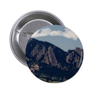 Flatirons 2 Inch Round Button