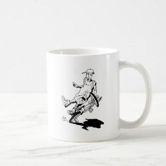 Flatlander Classic White Coffee Mug