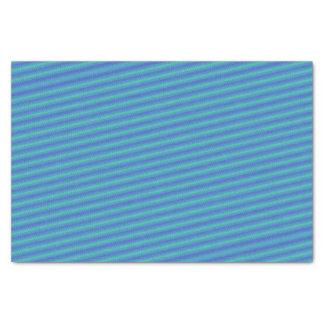 Flatline Blues Tissue Paper