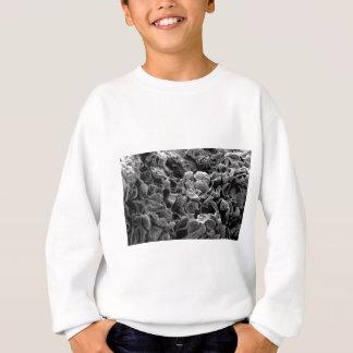 flatten dots texture sweatshirt