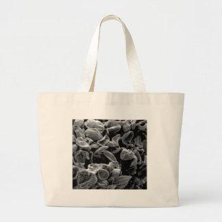 flattened cells capture large tote bag