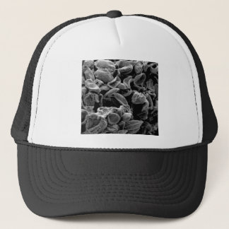 flattened cells capture trucker hat