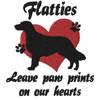 Flatties Leave Paw Prints Hoodie