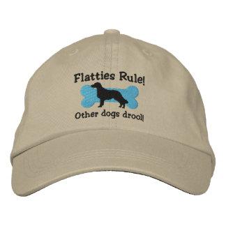 Flatties Rule Embroidered Hat