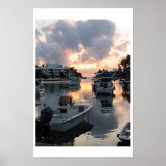 Flatts Inlet Bermuda Poster